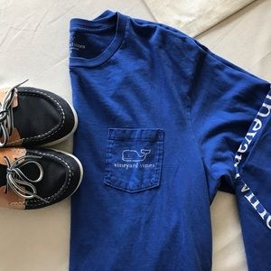 {Vineyard Vines} Classic long sleeve t , M
